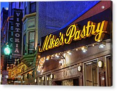 Mike's Pastry Shop - Boston Acrylic Print by Joann Vitali