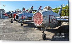 Mikoyan-gurevich Fagot Mig-15uti Acrylic Print by Gregory Dyer