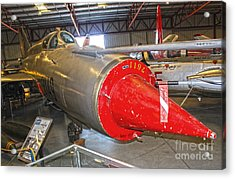 Mikoyan Gurevich Fishbed Mig-21r Acrylic Print by Gregory Dyer