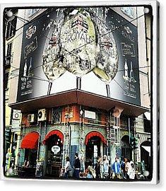#milan #bar #italy #milano #martini Acrylic Print