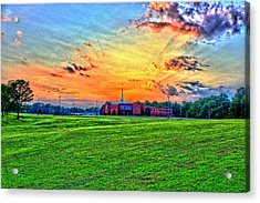 Milan First United Methodist Church Acrylic Print