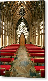 Mildred Cooper Chapel-1 Acrylic Print by Maxwell Amaro