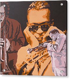 Miles Davis I Acrylic Print by Ronald Young