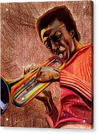 Miles In Color 3 Acrylic Print by Dallas Roquemore