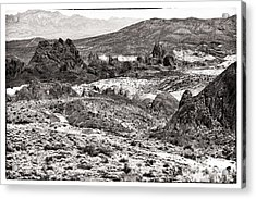 Miles Of Mountains Acrylic Print by John Rizzuto