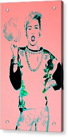 Miley 1 Acrylic Print by Brian Reaves