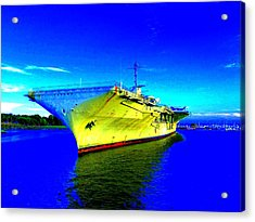 Military Ship 2 Acrylic Print by Ron Kandt