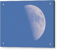 Acrylic Print featuring the photograph Milk Moon  by Deborah Moen