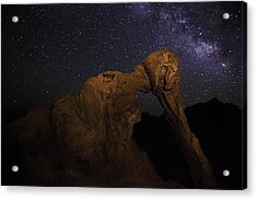 Milky Way Over The Elephant 2 Acrylic Print