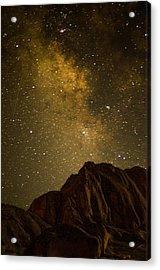 Milky Sky Acrylic Print by Mike Schmidt