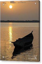 Milky Sunrise Acrylic Print