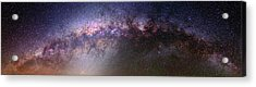 Milky Way And Galactic Centre Acrylic Print