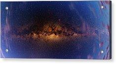 Milky Way At Dawn Acrylic Print by Babak Tafreshi