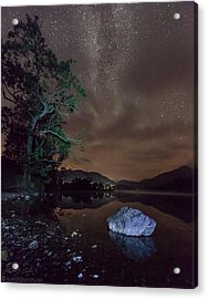 Milky Way At Gwenant Acrylic Print