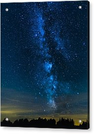 Milky Way Cherry Springs Acrylic Print