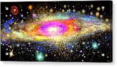 Milky Way Acrylic Print by Daniel Janda