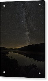 Milky Way Over Costello Creek Acrylic Print