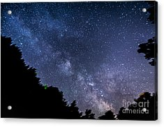 Milky Way Over Silver Springs Campground Acrylic Print