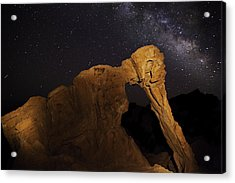 Milky Way Over The Elephant 3 Acrylic Print