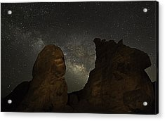 Milky Way Over The Seven Sisters 3 Acrylic Print