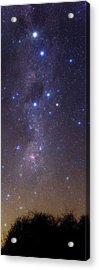 Milky Way Stars And Nebulae Acrylic Print by Luis Argerich