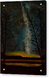 Milky Way Acrylic Print by Steve Hermann