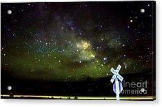 Milkyway  Crossing Blur Acrylic Print