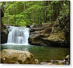 Mill Creek Falls #1 Acrylic Print