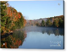 Mill Lake Thanksgiving Weekend II Acrylic Print