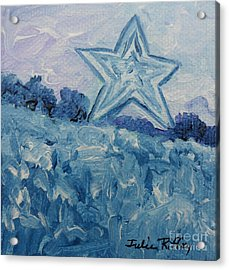 Mill Mountain Star Acrylic Print