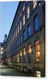 Acrylic Print featuring the photograph Mill Perspective by Paul Indigo