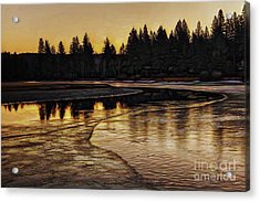 Mill Pond Freeze-d Acrylic Print