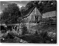 Mill - The Mill Acrylic Print by Mike Savad