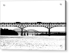 Millard Tydings Memorial Bridge Acrylic Print