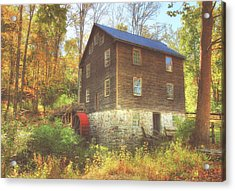 Millbrook Grist Mill  Acrylic Print