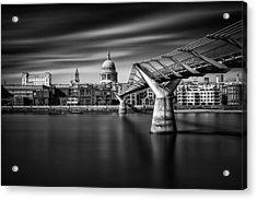 Millennium Bridge Acrylic Print