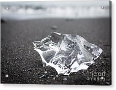 Acrylic Print featuring the photograph Millennium Ice by Peta Thames