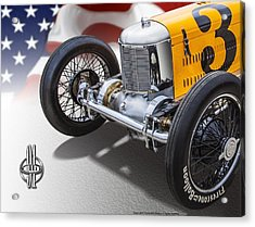 Miller 91 With Badge Acrylic Print
