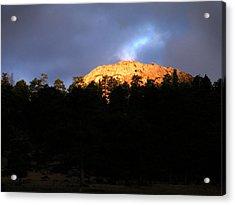 Acrylic Print featuring the photograph Miller Moth Mountain by Craig T Burgwardt