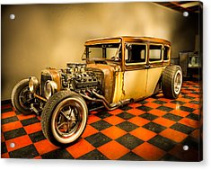 Millers Chop Shop 1929 Dodge Victory Six After Acrylic Print by Yo Pedro