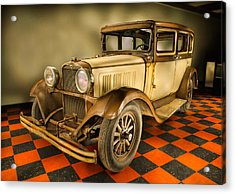 Millers Chop Shop 1929 Dodge Victory Six Before Acrylic Print by Yo Pedro