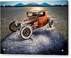 Millers Chop Shop 1929 Model A Truck Acrylic Print