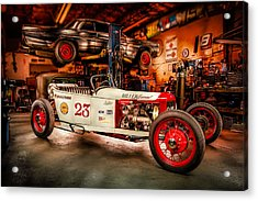 Millers Chop Shop Track T Toyota Acrylic Print