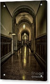 Million Dollar Hallway Acrylic Print