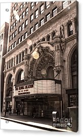 Million Dollar Theater - Los Angeles Acrylic Print by Gregory Dyer
