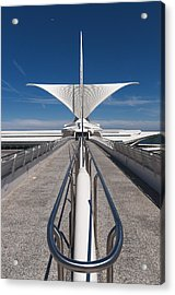 Milwaukee Art Museum Acrylic Print by Paul Plaine