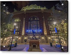 Milwaukee Brewers Miller Park 2 Acrylic Print