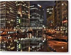 Milwaukee River Acrylic Print