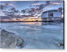 Milwaukee Sunset Acrylic Print