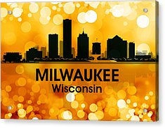 Milwaukee Wi 3 Acrylic Print by Angelina Vick